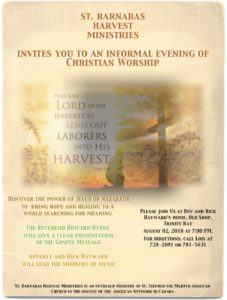 St. Barnabas Harvest Ministries Launch a New Ministry @ Home of Rick and Beverly Hayward | Old Shop | Newfoundland and Labrador | Canada